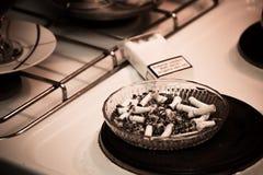 Επιβλαβής έννοια καπνίσματος Στοκ Εικόνες