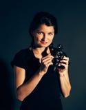Επιβλαβής γυναίκα Στοκ φωτογραφίες με δικαίωμα ελεύθερης χρήσης
