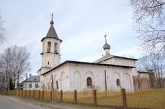 Επιβλαβής) εκκλησία Malein Mikhail ( εκκλησία δημοπρασίας υπόθεσης novgorod veliky Στοκ εικόνες με δικαίωμα ελεύθερης χρήσης