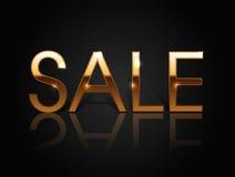 Επιγραφή σπινθηρίσματος της πώλησης Στοκ Εικόνες
