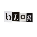 Επιγραφή Blog Στοκ εικόνες με δικαίωμα ελεύθερης χρήσης