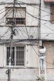 Επιδιορθωτής των τηλεφωνικών γραμμών στοκ εικόνες με δικαίωμα ελεύθερης χρήσης