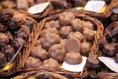 Επιδόρπιο γλυκών σοκολάτας στοκ φωτογραφίες με δικαίωμα ελεύθερης χρήσης