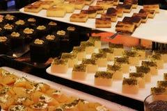 Επιδόρπιο και κέικ Τουρκικό επιδόρπιο Διάφορος τύπος επιδορπίου Στοκ φωτογραφίες με δικαίωμα ελεύθερης χρήσης