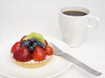 επιδόρπιο καφέ στοκ εικόνα με δικαίωμα ελεύθερης χρήσης