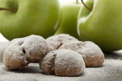 επιδόρπιο μήλων Στοκ φωτογραφία με δικαίωμα ελεύθερης χρήσης