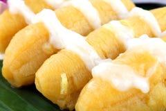 επιδόρπιο Ταϊλανδός μπανανών Στοκ φωτογραφία με δικαίωμα ελεύθερης χρήσης