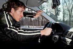 επιθετικός οδηγός Στοκ φωτογραφία με δικαίωμα ελεύθερης χρήσης