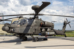 Επιθετικό ελικόπτερο Apache Στοκ φωτογραφία με δικαίωμα ελεύθερης χρήσης