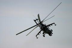 Επιθετικό ελικόπτερο RAF Fairford στη δερματοστιξία αέρα Στοκ φωτογραφία με δικαίωμα ελεύθερης χρήσης