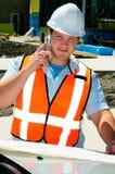επιθεωρητής κινητών τηλε&ph Στοκ φωτογραφία με δικαίωμα ελεύθερης χρήσης