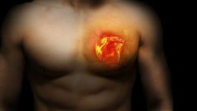 Επιθυμία καψίματος μιας σπασμένης καρδιάς απόθεμα βίντεο