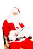 επιθυμία santa καταλόγων Claus στοκ φωτογραφίες με δικαίωμα ελεύθερης χρήσης