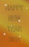 Επιθυμίες για το νέο έτος Στοκ Εικόνες