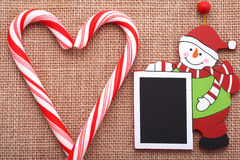 Επιθυμίες πινάκων Χριστουγέννων στοκ φωτογραφία με δικαίωμα ελεύθερης χρήσης