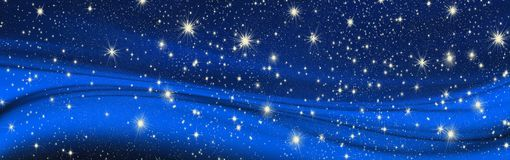 Επιθυμίες Χριστουγέννων, τόξο με τα αστέρια, υπόβαθρο Στοκ Εικόνες