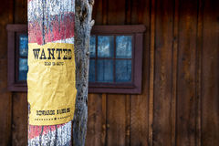 Επιθυμητή μακρινή δύση Στοκ εικόνες με δικαίωμα ελεύθερης χρήσης