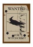 Επιθυμητός για Witchcraft Στοκ εικόνες με δικαίωμα ελεύθερης χρήσης