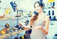 Επιθυμητό εκμετάλλευση παπούτσι γυναικών Στοκ εικόνα με δικαίωμα ελεύθερης χρήσης
