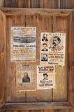 Επιθυμητό μούρο Stapp Earp του Wyatt Στοκ εικόνα με δικαίωμα ελεύθερης χρήσης