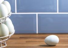 Επικάλυψη κειμένων υποβάθρου αυγών Στοκ φωτογραφία με δικαίωμα ελεύθερης χρήσης