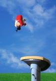 επικάλυψη με θολωτή κατασκευή αλόγων Στοκ φωτογραφία με δικαίωμα ελεύθερης χρήσης