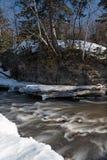 επικίνδυνη άνοιξη ποταμών στοκ φωτογραφία