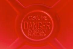 επικίνδυνη βενζίνη στοκ εικόνα