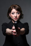επικίνδυνη γυναίκα Στοκ φωτογραφία με δικαίωμα ελεύθερης χρήσης