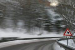 επικίνδυνη οδήγηση Στοκ Εικόνα