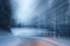 επικίνδυνη οδήγηση Στοκ εικόνες με δικαίωμα ελεύθερης χρήσης