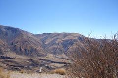 επικίνδυνος δρόμος - διαδρομή 33 - salta, Αργεντινή στοκ φωτογραφία με δικαίωμα ελεύθερης χρήσης