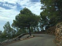 επικίνδυνος δρόμος στοκ φωτογραφία με δικαίωμα ελεύθερης χρήσης