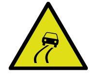 επικίνδυνος δρόμος Στοκ φωτογραφίες με δικαίωμα ελεύθερης χρήσης