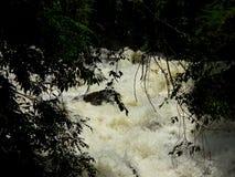 Επικίνδυνη ροή του νερού Στοκ Φωτογραφία