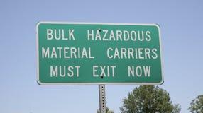 Επικίνδυνοι υλικοί μεταφορείς στοκ εικόνες