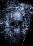 Επικίνδυνος καπνός στοκ φωτογραφία