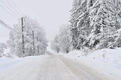 Επικίνδυνος δρόμος Στοκ Εικόνα