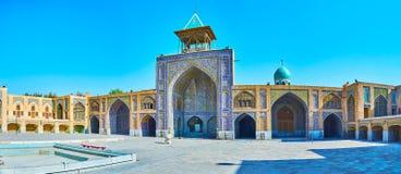 Επικεράμωση του μουσουλμανικού τεμένους Seyed, Ισφαχάν, Ιράν στοκ εικόνες με δικαίωμα ελεύθερης χρήσης