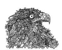 επικεφαλής αρπακτική υπερήφανη θέα αετών πουλιών Στοκ εικόνες με δικαίωμα ελεύθερης χρήσης