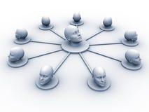 επικεφαλής δίκτυο απεικόνιση αποθεμάτων