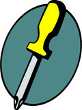 επικεφαλής διάνυσμα κατσαβιδιών phillips Στοκ εικόνα με δικαίωμα ελεύθερης χρήσης