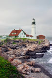 επικεφαλής ελαφρύ Maine Πόρτλ Στοκ φωτογραφία με δικαίωμα ελεύθερης χρήσης