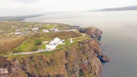 Επικεφαλής κοβάλτιο Donegal Ιρλανδία φάρων Dunree στοκ φωτογραφία
