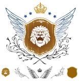 επικεφαλής λιοντάρι δια διανυσματική απεικόνιση