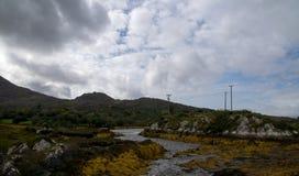 Επικεφαλής νησί dursey τοπίων Στοκ εικόνες με δικαίωμα ελεύθερης χρήσης