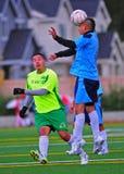 επικεφαλής ποδόσφαιρο &al Στοκ Φωτογραφίες