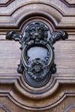 επικεφαλής ρόπτρα πορτών Στοκ φωτογραφία με δικαίωμα ελεύθερης χρήσης