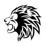 Επικεφαλής του διανύσματος λιονταριών Στοκ Εικόνες