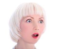 Επικεφαλής του κοριτσιού blondie στοκ φωτογραφίες με δικαίωμα ελεύθερης χρήσης